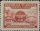 [Airmail - Emblem of Lloyd Aéreo Boliviano, Typ BH2]