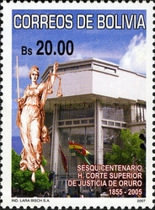 [The 150th Anniversary of the High Court of Justice, Typ BKZ]