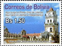[The 200th Anniversary of the 25th May 1809 - Sucre, Typ BLH]