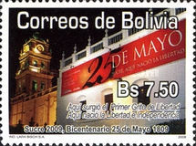 [The 200th Anniversary of the 25th May 1809 - Sucre, Typ BLK]