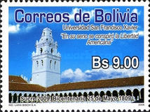 [The 200th Anniversary of the 25th May 1809 - Sucre, Typ BLL]