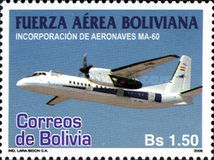 [Incorporation of MA-60 Aircraft into the Bolivian Air Force, Typ BLO]