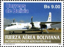 [Incorporation of MA-60 Aircraft into the Bolivian Air Force, Typ BLP]