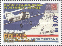 [The 80th Anniversary of the First Mail Flight Between France and Bolovia, Typ BMX]