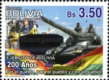 [The 200th Anniversary of the Army of Bolivia, Typ BNK]