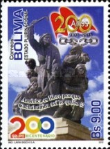 [The200th Anniversary of Cochabamba, Typ BNO]