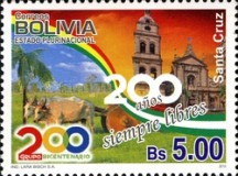 [The 200th Anniversary of Santa Cruz, Typ BNP]