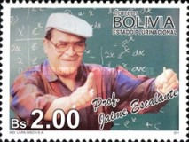 [The 80th Anniversary of the Birth of Professor Jaime Escalante, 1930-2010, Typ BOB]