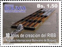 [The 10th Anniversary of the RIBB - Internationale Register of Bolivian Ships, Typ BOK]