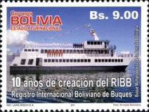 [The 10th Anniversary of the RIBB - Internationale Register of Bolivian Ships, Typ BOL]