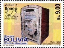 [America UPAEP - Mail Boxes, type BOU]