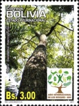 [International Year of Forests, type BOZ]