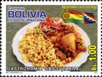 [Gastronomy - Bolivian Dishes, type BPA]