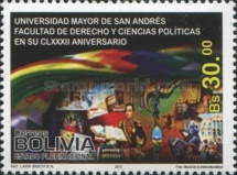 [Teh 182th Anniversary of the National University of San Andrés, Typ BRY]