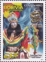 [The 100th Anniversary of the Oruro Carnival, Typ BRZ]