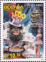 [The 100th Anniversary of the Oruro Carnival, Typ BSB]