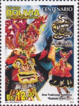 [The 100th Anniversary of the Oruro Carnival, Typ BSC]
