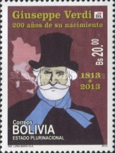 [The 200th Anniversary of the Brith of Giuseppe Verdi, 1813-1901, Typ BTB]