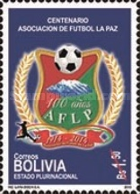 [The 100th Anniversary of La Paz Football Association, Typ BTG]