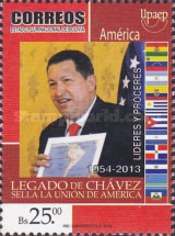 [UPAEP - The 60th Anniversary of the Birth of Hugo Chávez Frías, 1854-2013, Typ BTR]