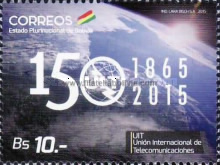 [The150th Anniversary of the ITU - International Telecommunicatios Union, type BUR]