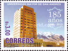 [The 185th Anniversary of the Foundation of the Universidad Mayor de San Andrés, type BUY]