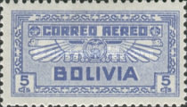 [Airmail Stamps, type BV]