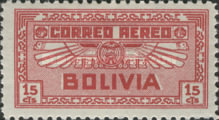 [Airmail Stamps, Typ BV2]