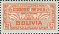 [Airmail Stamps, Typ BV3]