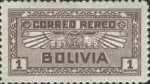 [Airmail Stamps, type BV6]