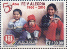 [The 50th Anniversary of Fe y Alegría, Typ BVA]