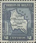 [Map of Bolivia, type BY]