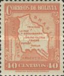 [Map of Bolivia, type BY10]