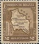 [Map of Bolivia, type BY13]