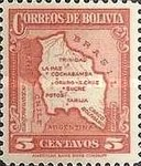 [Map of Bolivia, type BY2]