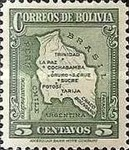 [Map of Bolivia, type BY3]