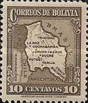 [Map of Bolivia, type BY4]