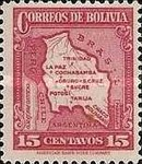 [Map of Bolivia, type BY5]