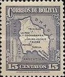 [Map of Bolivia, type BY6]