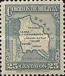 [Map of Bolivia, type BY8]