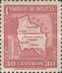 [Map of Bolivia, type BY9]