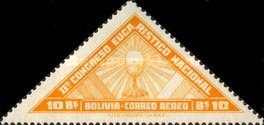 [Airmail Stamps - The Second National Eucharistic Congress, type DD1]