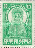 [Airmail Stamps - The Second National Eucharistic Congress, type DE]