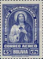 [Airmail Stamps - The Second National Eucharistic Congress, type DF]
