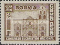 [Airmail Stamps - The Second National Eucharistic Congress, type DG1]