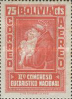 [Airmail Stamps - The Second National Eucharistic Congress, type DH]