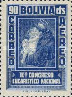 [Airmail Stamps - The Second National Eucharistic Congress, type DH1]