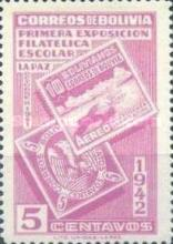 [The First Students' Philatelic Exhibition, La Paz, type DR]