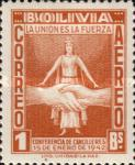[Airmail Stamps - Chancellors Meeting, Rio de Janeiro, type DS2]