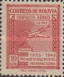 [Airmail Stamps - Panagra Airways, The 10th Anniversary of the First La Paz-Tacna Flight, type EK]
